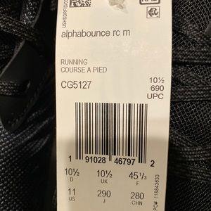 Adidas Alphabounce size 11